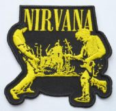 Nirvana - 'Live' Embroidered Patch